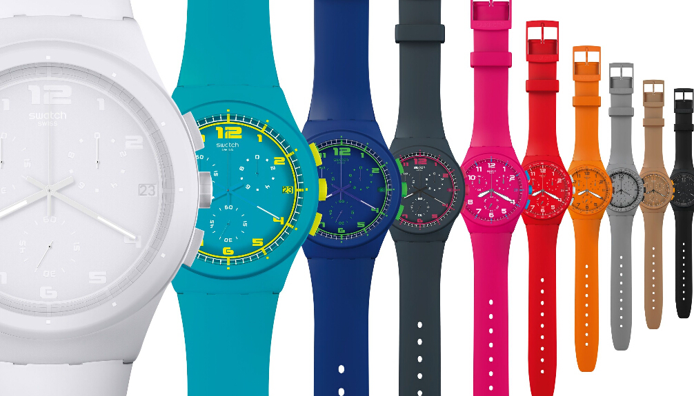 Swatch将推无需充电智能手表 PK Apple